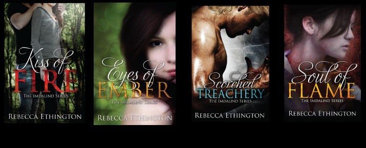 The History Of The Kiss Of Fire Cover Rebecca Ethington