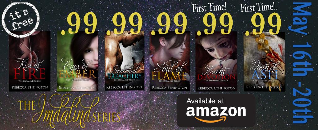 The Imdalind Series Is On Sale Rebecca Ethington
