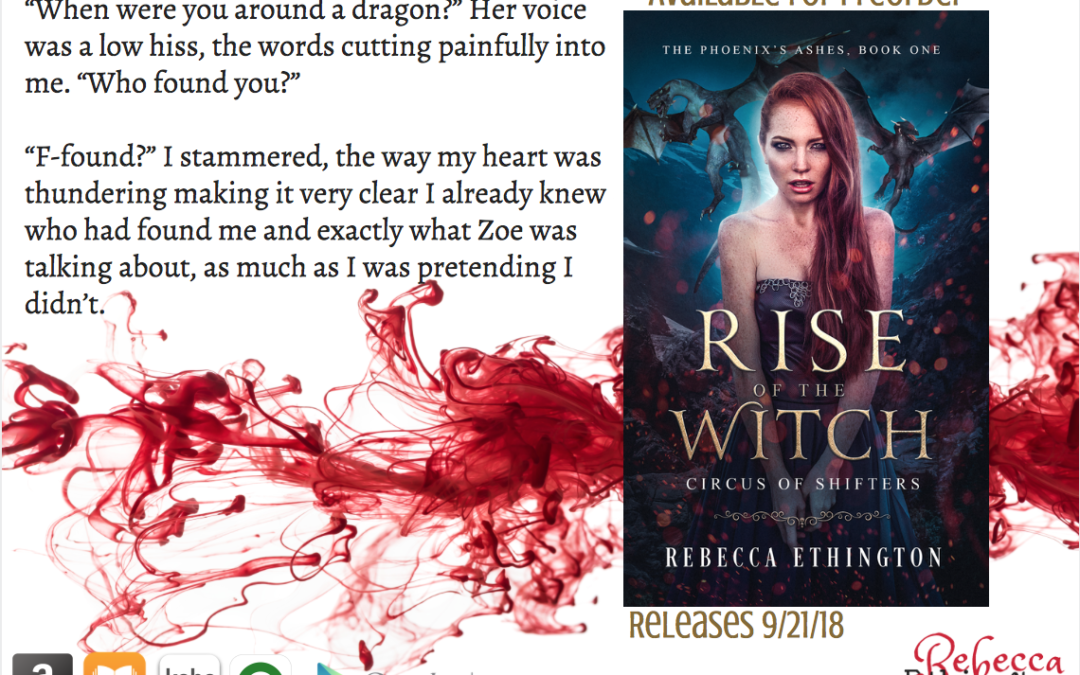 Rise Of The Witch The First Chapter Rebecca Ethington